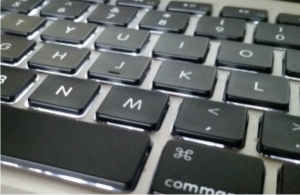 a picture of my MacBook Pro's keyboard